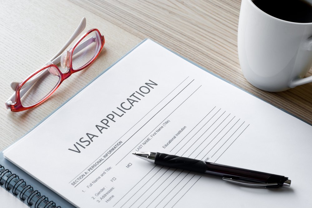 canadian us work visa application