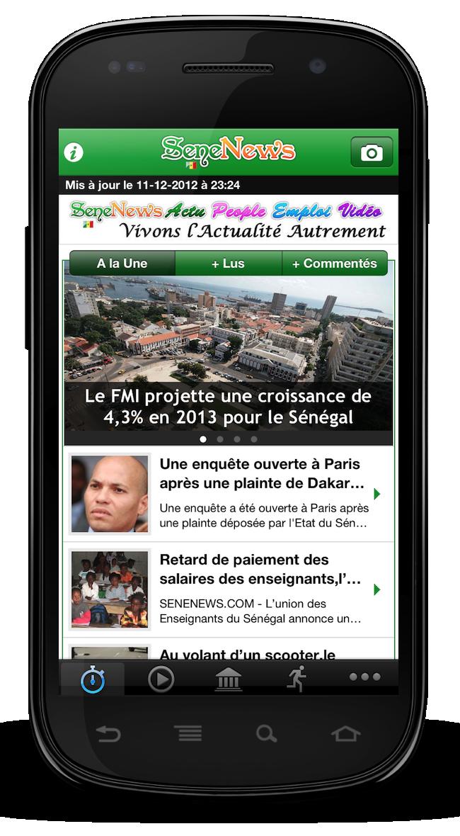 telechargement des applications pour mobile