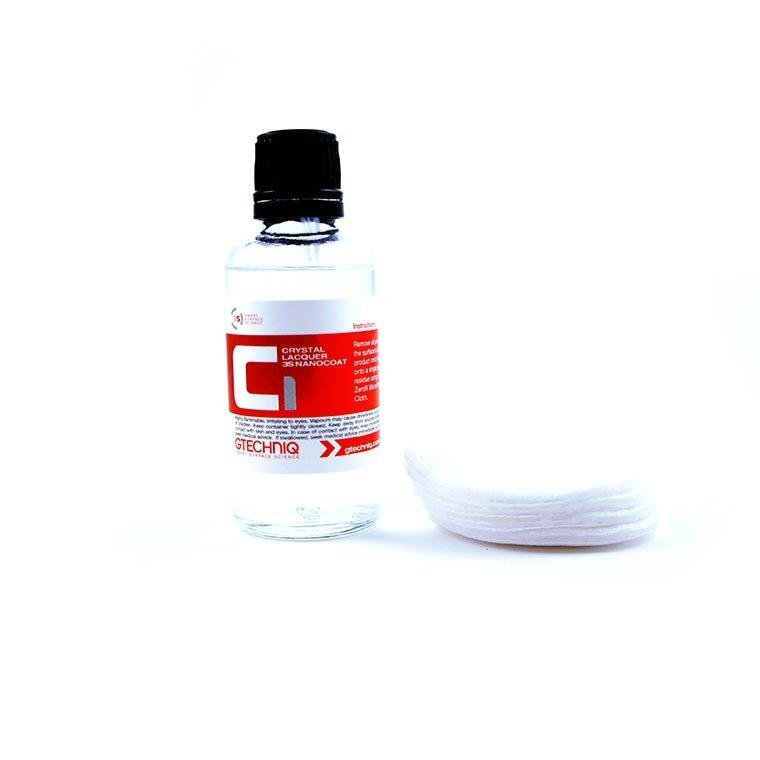 gtechniq c1 crystal lacquer application