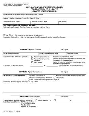 metis cfs application form foster