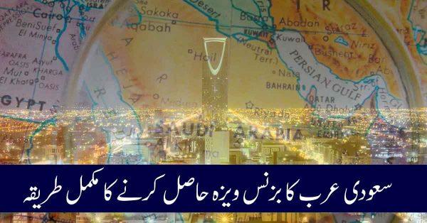 visa application to saudia arabia from canada