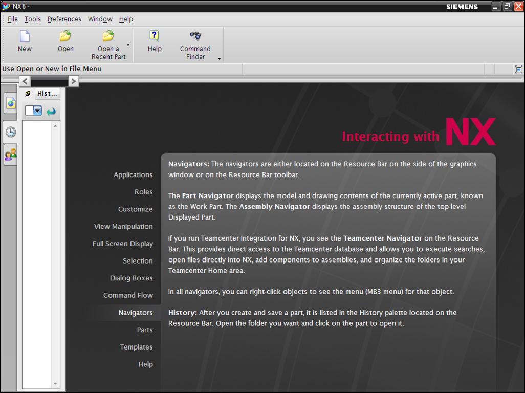 nx 8.5 this application