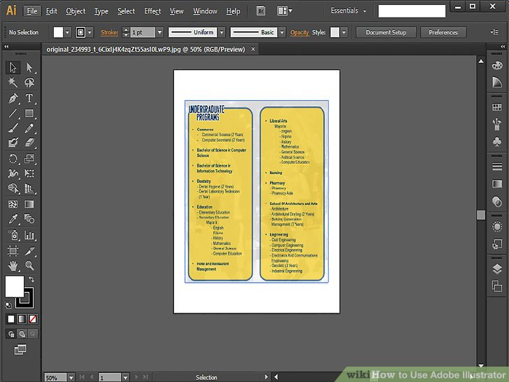 how to editing of text on application form in illustrator
