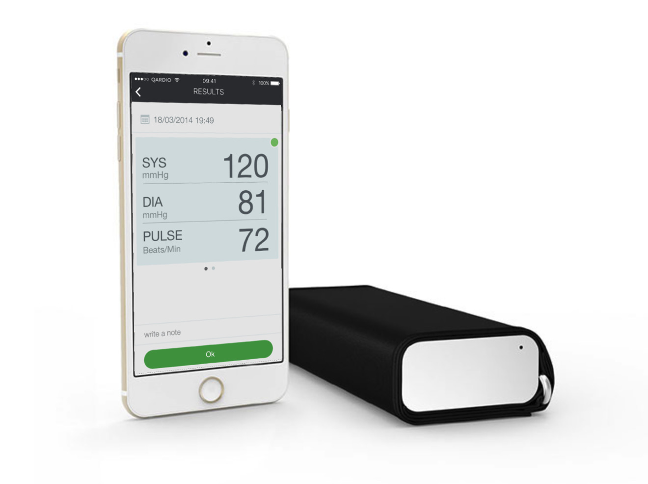 application iphone blood pressure measurement