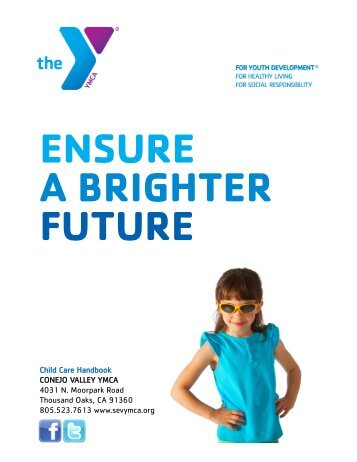 application for enrollment ymca childcare