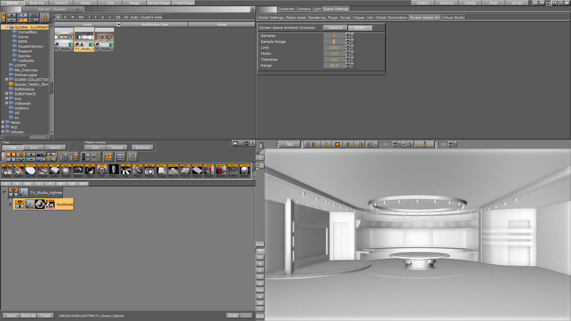 no application controlled ambient occlusion