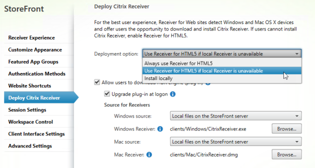 wpf application not launching in citrix receiver 3