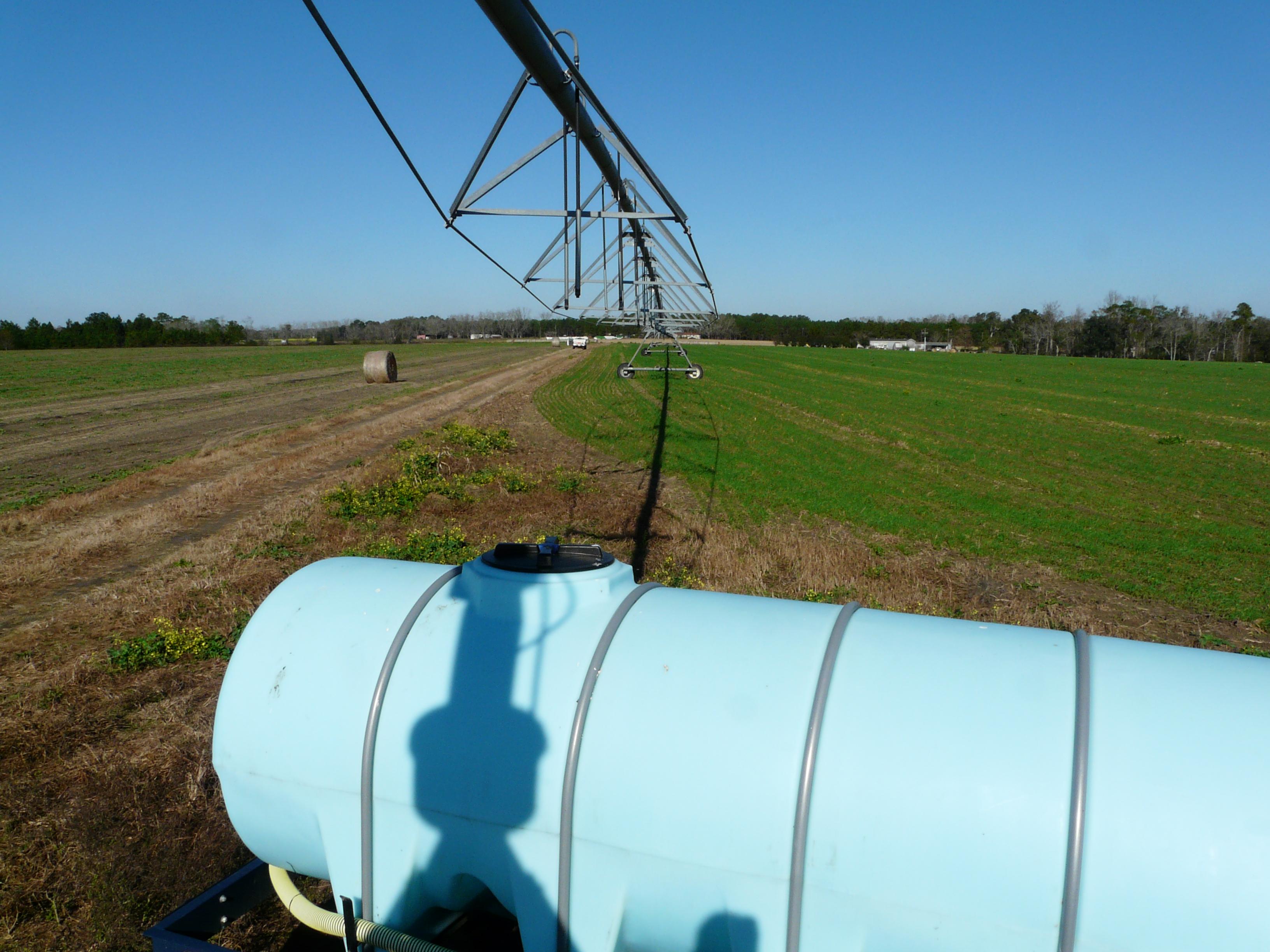 calculating liquid fertilizer application rates
