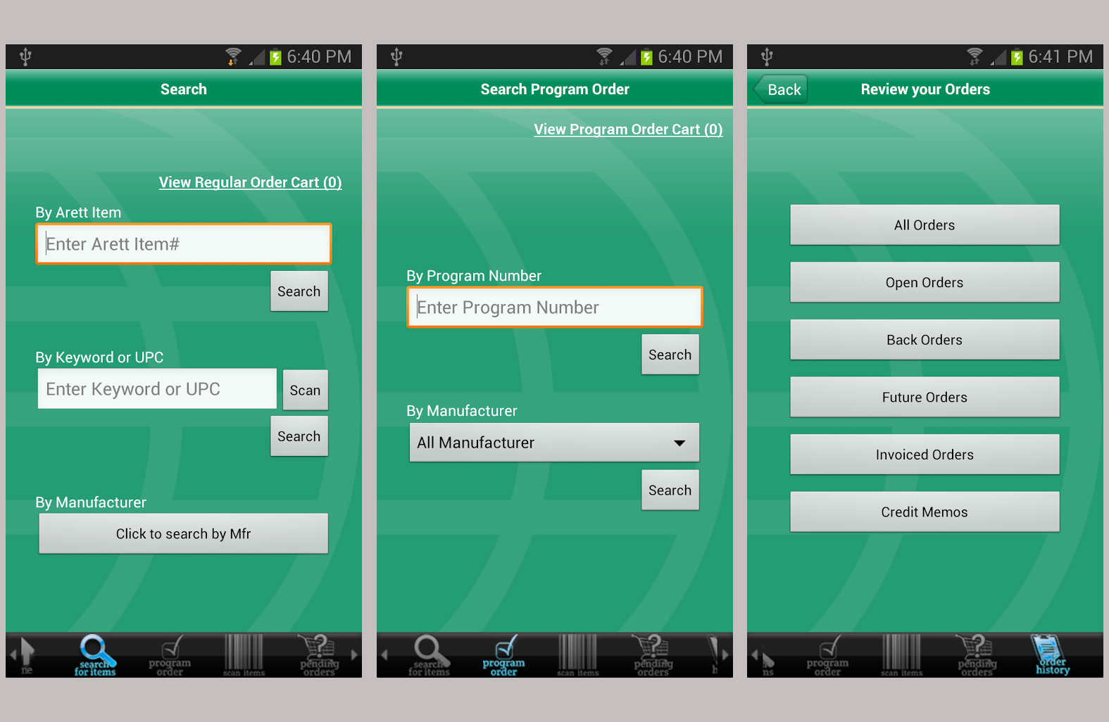 develop mobile application for android php