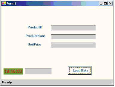 timer control in c net web application