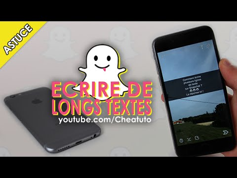 application ecrire sur une photo iphone