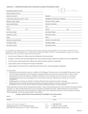 sandals grenada job application form