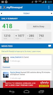 application pour connaitre le nombre de calories des aliments