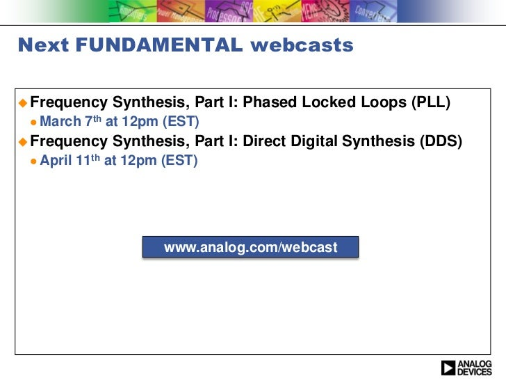 analog devices pll application note