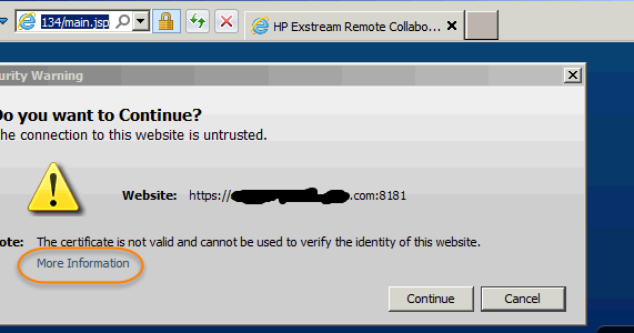 chase online application unable to continue