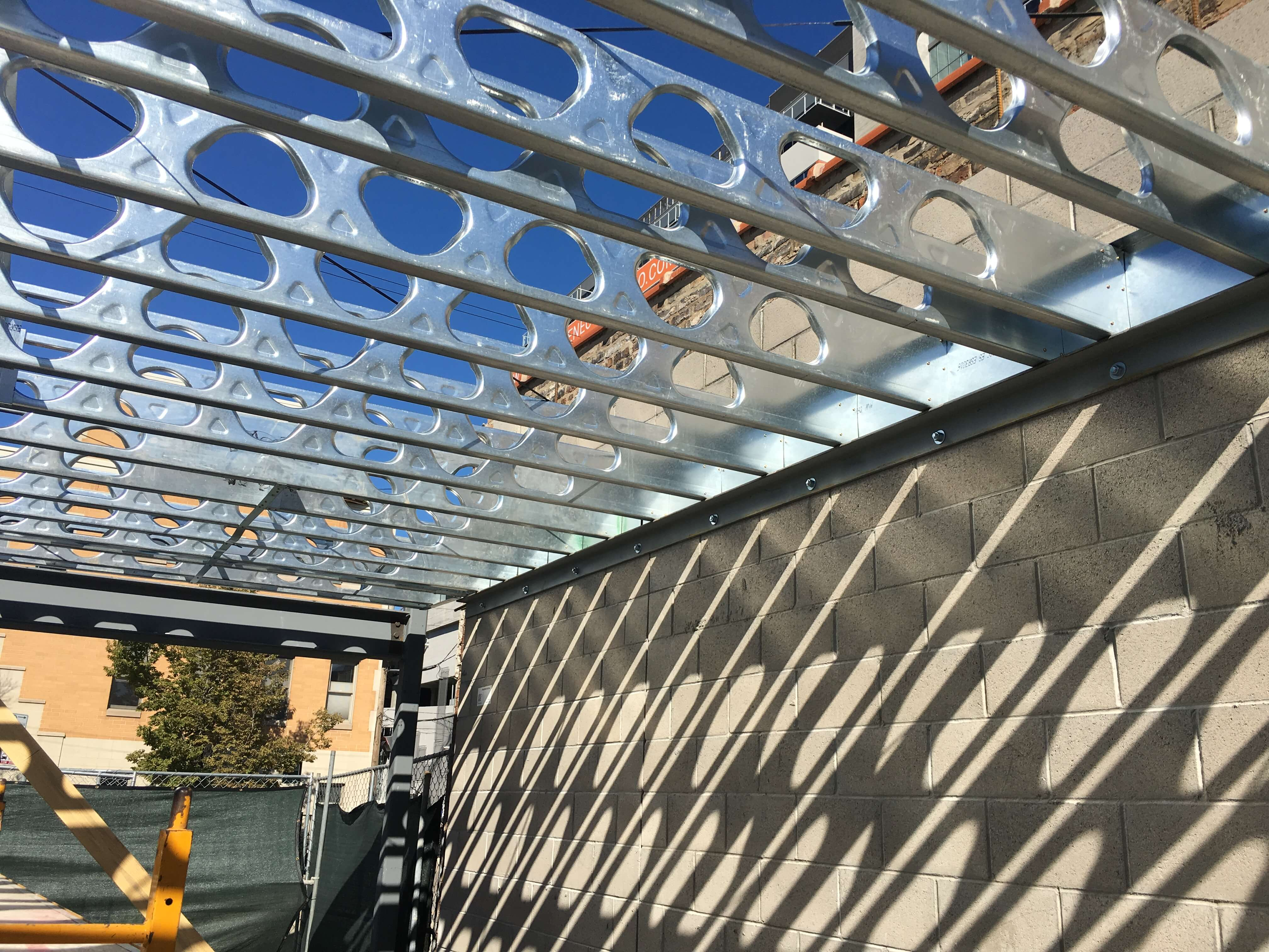 application of cold-formed steel built-up sections in building construction
