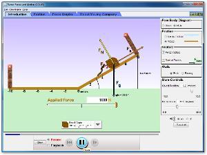 edu colorado phet the ramp the ramp application
