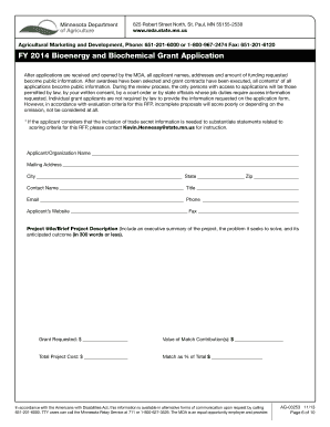 grant application template disability canada