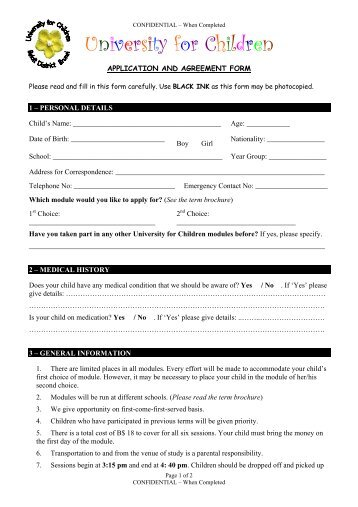 secondary school application form kent