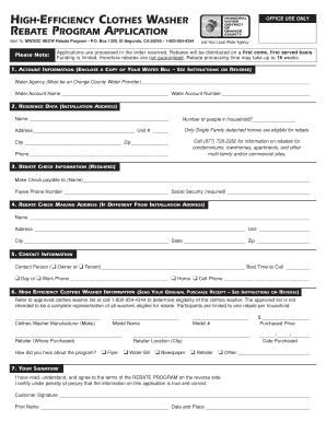rebate application what is it