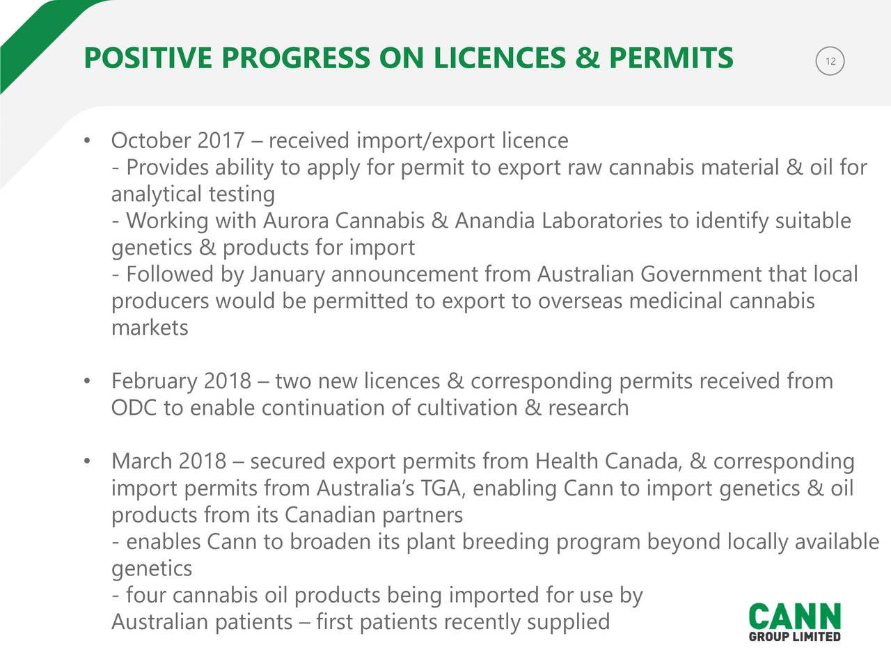 application for licence to research cannabis in canada