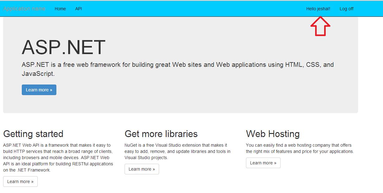 asp net core mvc application example