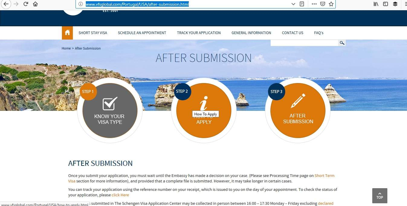 portuguese consulate toronto visa application