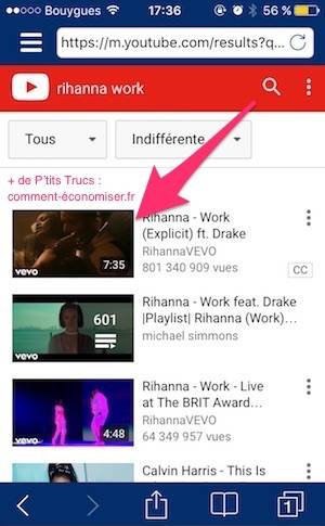 application iphone 6 telecharger musique youtube