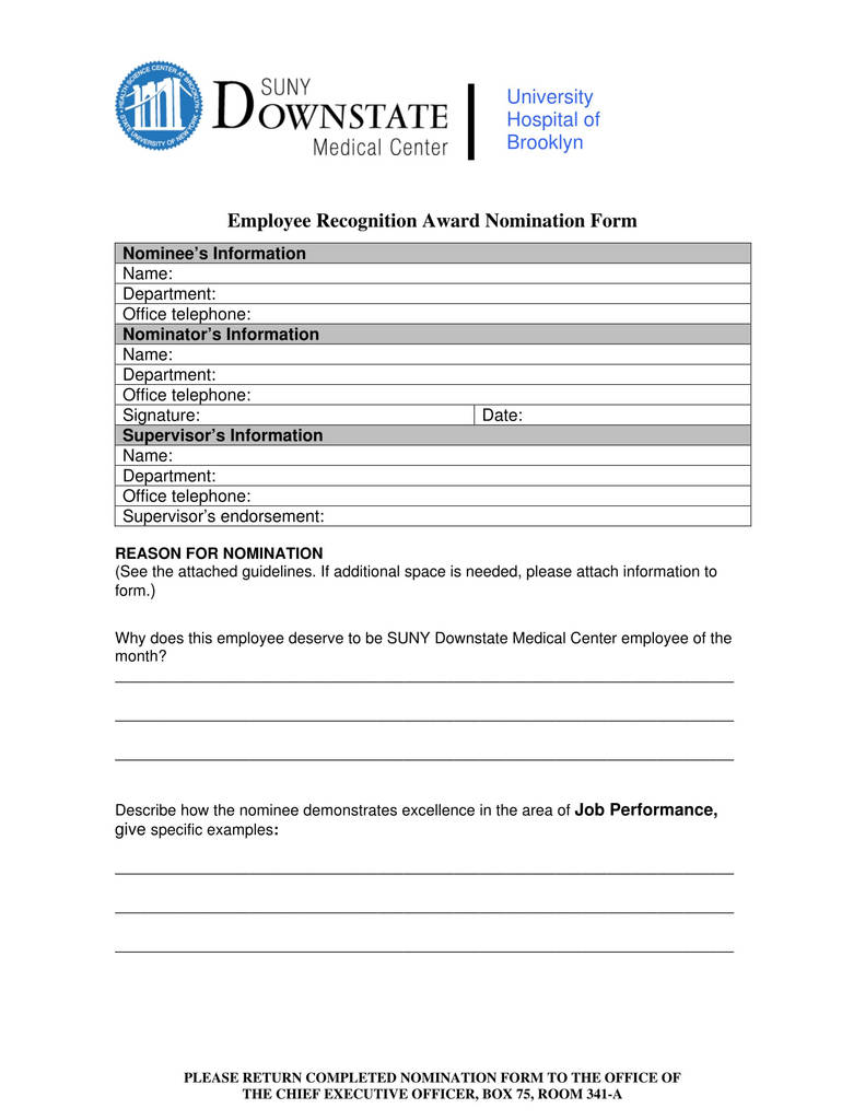 recipe of complete application form ontario nominee