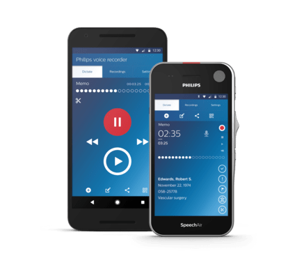 cellular application to record voices