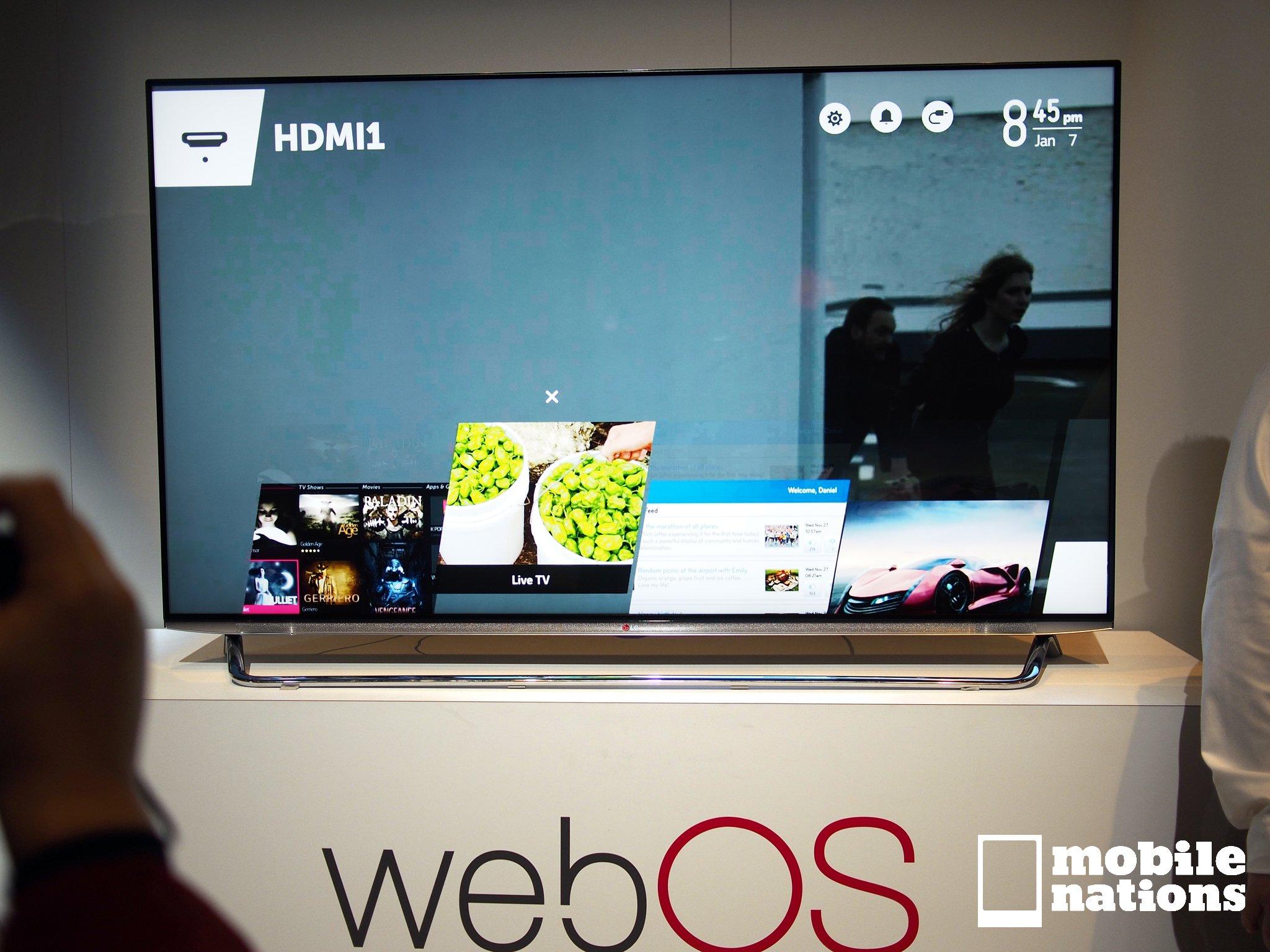 lg tv smartshare-webos application