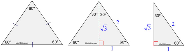 applications of special triangles page 2