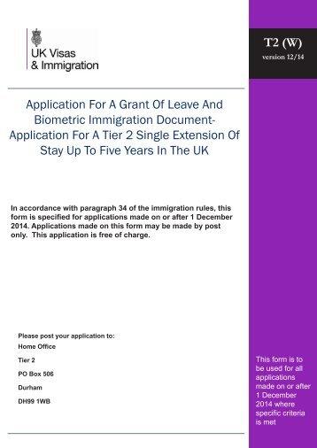 tier 1 ilr application form