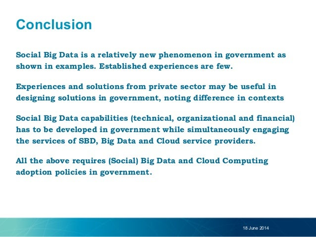 big data applications in government