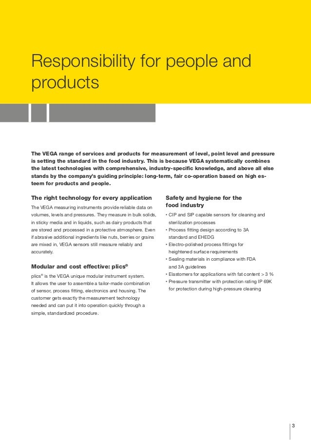 industrial applications examples of food