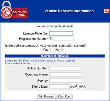how to fill alberta application for automobile insurance