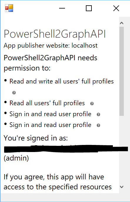 using oauth to authorize only one application