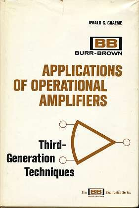 graeme-application of operational amplifiers third generation techniques
