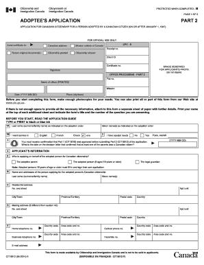 cit 2001 canada citizenship application