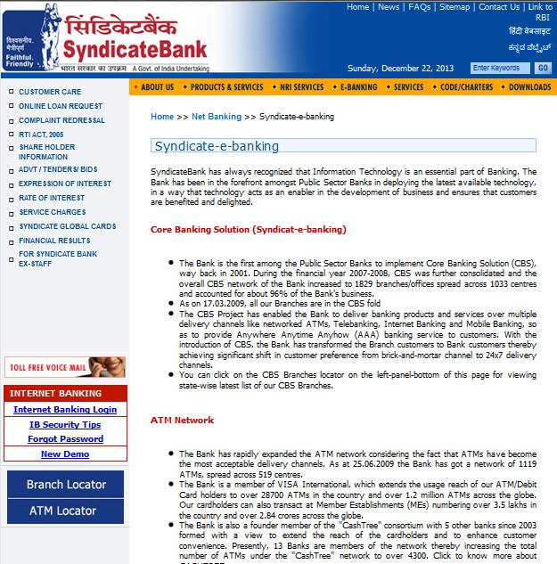 corporation internet banking application form