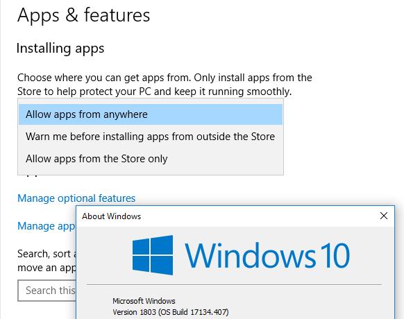 what windows applications runs ica