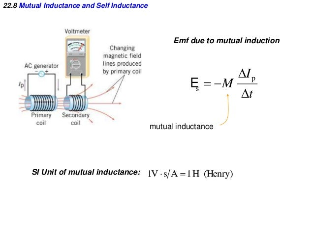 applications of self and mutual inductance