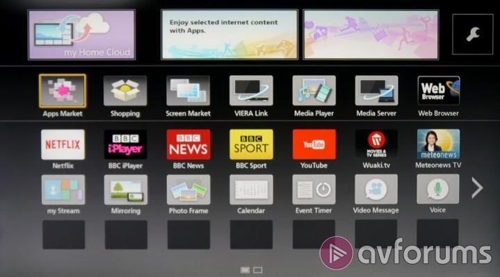 installer application tv panasonic viera