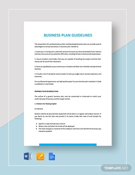 business loan application letter format
