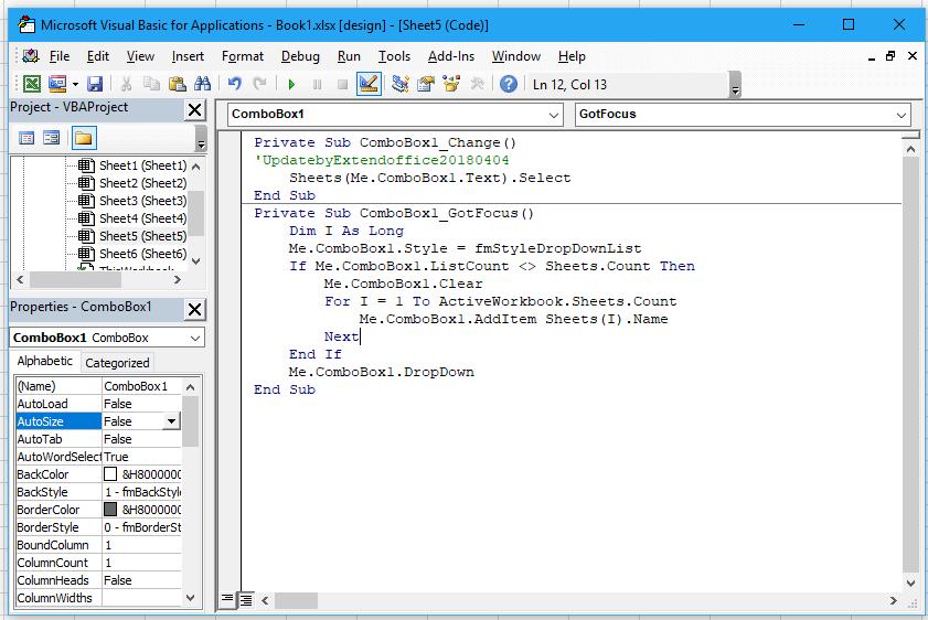 appliquer code vba sur chaque feuille