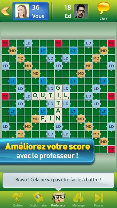application scrabble pour iphone gratuit