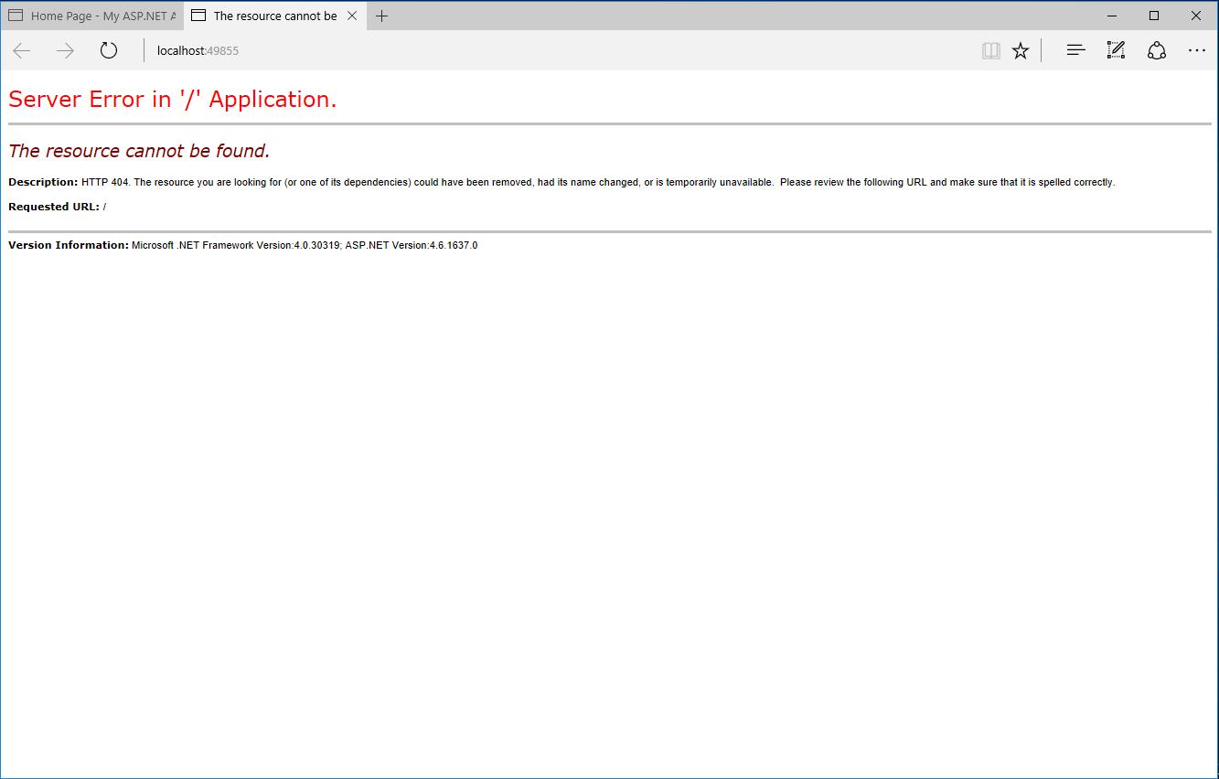 applying pagin in default mvc application