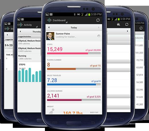application de track pour android
