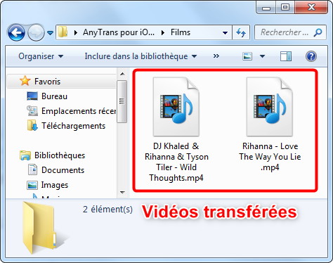 application gratuite pour transferer film sur ipad