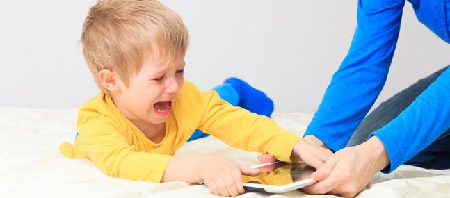 application lkmite de trmps tablette enfant